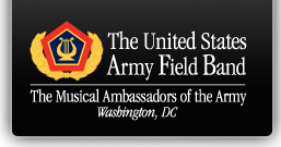 The U.S. Army Field Band Logo