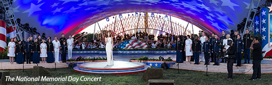 The Soldiers' Chorus at The National Memorial Day Concert